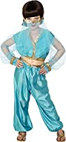 Arabian Princess Costume, includes Trousers, Top and Headpiece