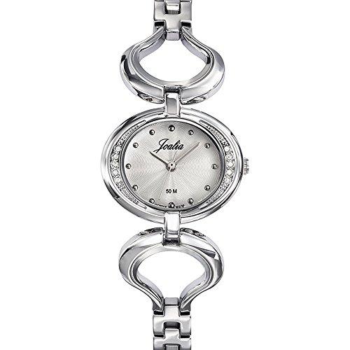 Joalia-633335-Orologio da donna con cinturino in metallo con quadrante, colore: argento