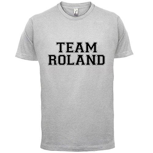 Team Roland - Herren T-Shirt - 13 Farben Hellgrau