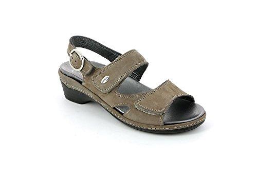 Grunland Sandale Dora Se0072-68 Taupe Taupe
