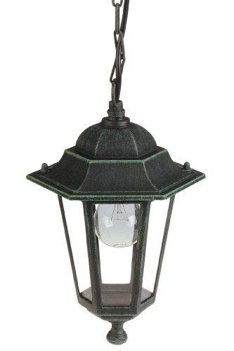 Lampe suspension e'clairage de jardin en aluminium 20x32 E27 H
