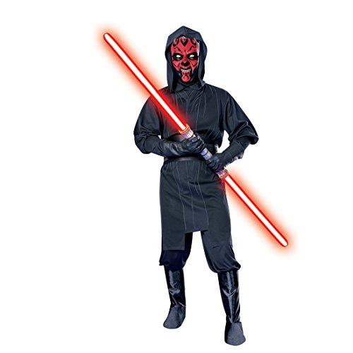 Star Wars Sith Kostüm Lord - Amakando Darth Maul Kostüm Sith Lord Lizenzkostüm XL 56/58 Star Wars Filmköstüm Originalkostüm Mottoparty Faschingskostüm Erwachsene