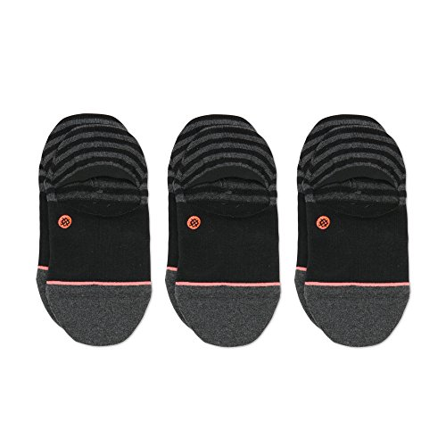 Invisible 3 Pack Socken black Größe: M Farbe: black -