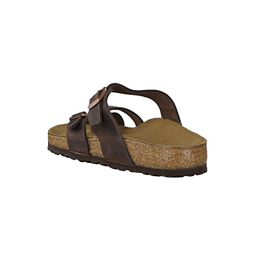 Birkenstock MAYARI - Tongs marron Oi54KSNC