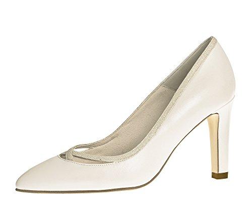 Fiarucci Brautschuhe Dunya - Stiletto High Heels - Ivory mit Glitzer Leder - Gr 36 EU 3 UK Bliss Stiletto Heel