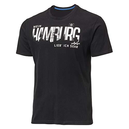 Hamburger SV T-Shirt Mein Hamburg Lieb´ Ich Sehr (L)