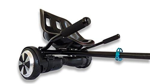Hoverkart Pro Silla Patinete eléctrico El único del Mercado Resistente para niños y Adultos, Convierte tu Hover en un Kart
