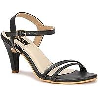 Denill Women's Comfortable Fashion Sandal Heel (Hard Bottam)