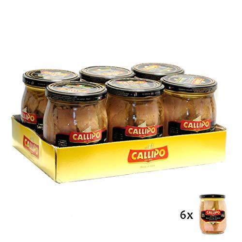 Filetti di Tonno all'olio di oliva Riserva Oro 550gr x 6