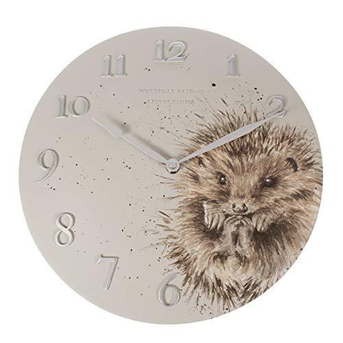 Wrendale Hedgehog - Reloj de Pared, diseño de Erizo