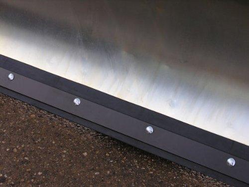 Weedeater 12hp 36 verzinktes Schneeschild 118x50 cm für Rasentraktore ID 2234