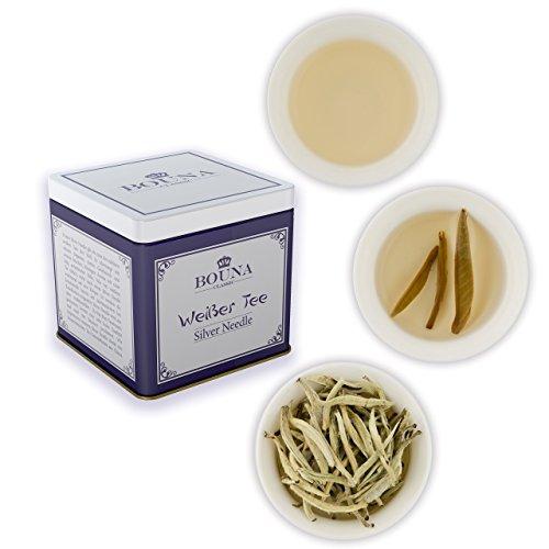 Naturreine Hautpflege | Gesichtspflege |exklusiver weißer Tee Silver Needle| natürlich elastische Haut für fettige, trockene und normale Haut | DIY Anti-Aging | Maske | Peeling