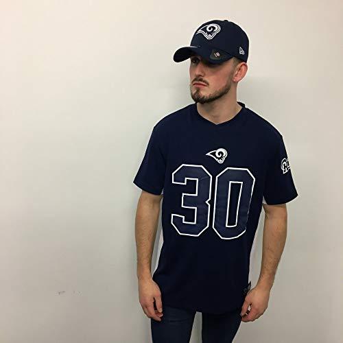 Fanatics NFL Los Angeles Rams Todd Gurley #30 Polymesh Name&Number Shirt Jersey Trikot (XXL) (Rams Bekleidung)