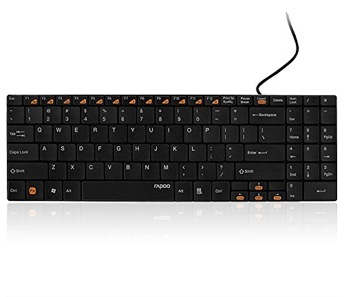 N7200 - Wired 2 Block Keyboard Blade Series black Block Blade