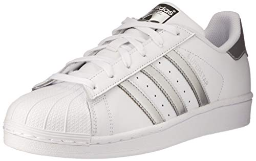 online store 34868 e10e9 adidas Originals Superstar, Zapatillas Unisex Adulto, Blanco (Footwear  White Silver Metallic
