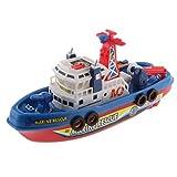 Sharplace Feuerwehrboot Spielzeug - Schiff Modell - 24 X 8 X 12cm - Best Reviews Guide