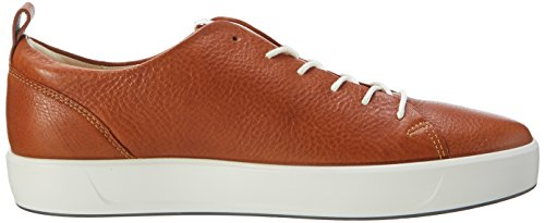 Ecco Mens Soft 8 Mens Sneaker Brown (1021lion)