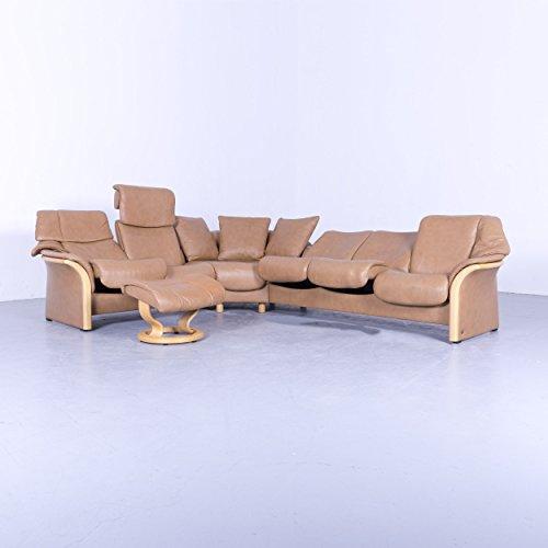 Ekornes Stressless Leder Eck Sofa Cognac Braun Relax Gebraucht Kaufen Wird  An Jeden Ort In Deutschland