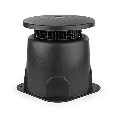oneConcept GS 665 Outdoor Cassa Altoparlante A Banda Larga da Giardino (30 Watt, Suono surroundsound a 360¡, alloggiamento ABS, protezione acqua) grigio scuro in offerta - Polaris Audio Hi Fi