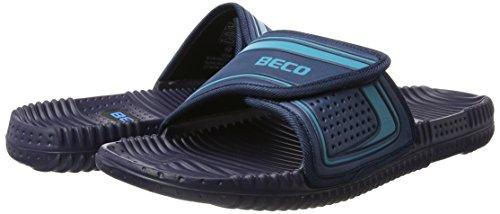 Beco Chaussons unisexe Bleu marine/bleu