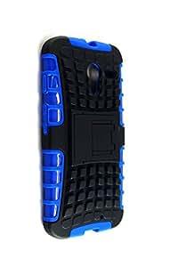 Purple Eyes Kick Stand Neo Hybrid back case For Motorola Moto X Blue
