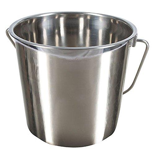Kerbl 29375 Edelstahleimer 5.7 Liter