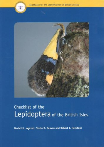 Checklist of the Lepidoptera of the British Isles (Handbooks for the Identification of British Insects)