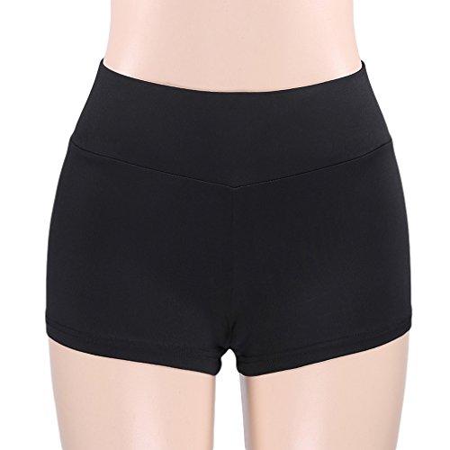LnLyin Frauen Sport Butt Scrunch Push up Shorts Schlank Gym Workout Yoga Hot Pants -