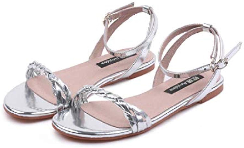 FEFEFEF Nuovi Sandali da Donna Scarpe Basse di Grandi Dimensioni con Scarpe da Donna di Grandi Dimensioni 41 42... | Re della quantità  | Uomini/Donna Scarpa