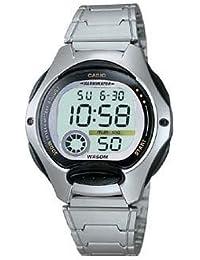 Casio - LW-200D-1A - Sports - Montre Femme - Quartz Digital - Cadran LCD - Bracelet Acier Gris