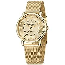 Pepe Jeans R2353105502 - Reloj con correa de acero para mujer, color dorado / gris