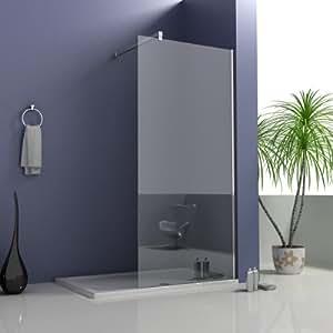 700 x 2 050 mm, salle de bain chambre Walk In Wet cabine de douche en verre Easyclean Panneau 8 mm