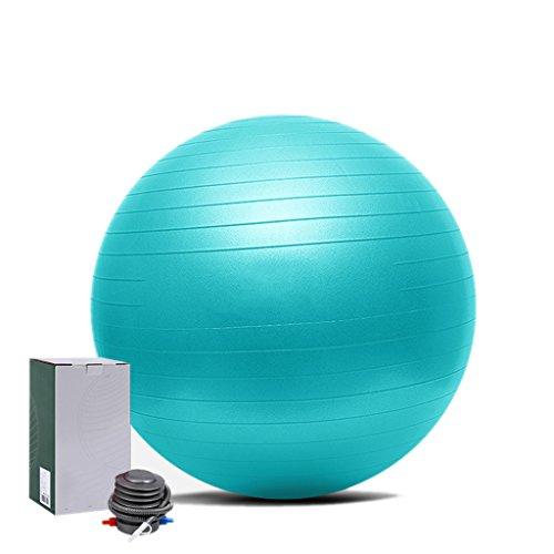 YD- ÜBUNG Gym Yoga Schweizer Ball Fitness Schwangerschaft Geburt Anti Burst Balls 55 cm / 65 cm / 75 cm + HANDPUMPE (Farbe : C, größe : 55cm)