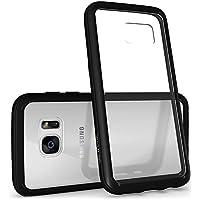 Diztronic Voyeur Case per Samsung Galaxy S7, Nero - Caso Poly Trasparente