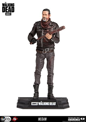 NEGAN BLOODY VERSION THE WALKING DEAD COLOR TOPS 7INCH FIGURE, Figurines & gadgets