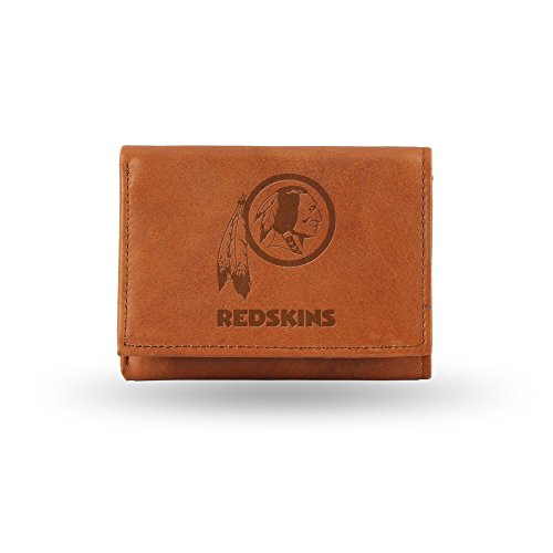 nfl-washington-redskins-embossed-genuine-leather-trifold-wallet