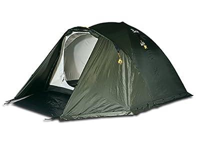 Bertoni Alp 3 Campingzelt für Bergtouren und Wanderungen, Waldgrün, Einheitsgröße