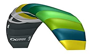 Cross Kites Unisex– Erwachsene Air 1.8 Green-Yellow R2F 1.8R2F, Grün, Gelb