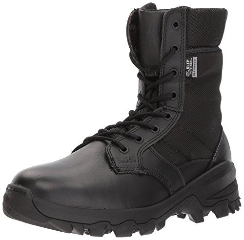 Botas Militares de Combate de Cuero Negro 5.11 de 8