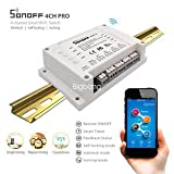 Best Smart Home Devices - Sonoff 4Ch Itead 4 Channel Wifi Switch Smart Review