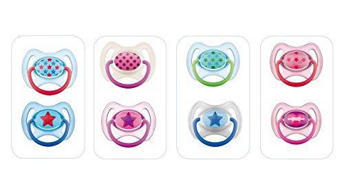 MAM Sucette Anneau - à partir de 18 mois - Silicone - Lot de 2 - coloris aléatoire