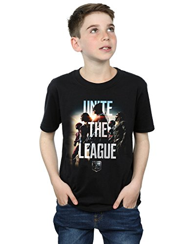 DC Comics Boys Justice League Movie Unite The League T-Shirt