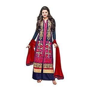 117e7c990 Li Te Ra Women's Salwar Suit(SBI-Kaeknoor_Blue_Free Size)