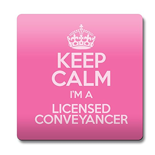 Pink Keep Calm I 'm A software prodotto conveyancer Sottobicchiere colore 3356