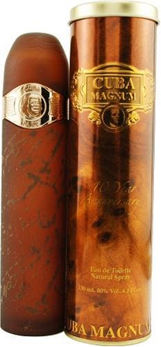 Parfum de France Cuba Magnum homme / men, Eau de Toilette, Vaporisateur / Spray, 130 ml