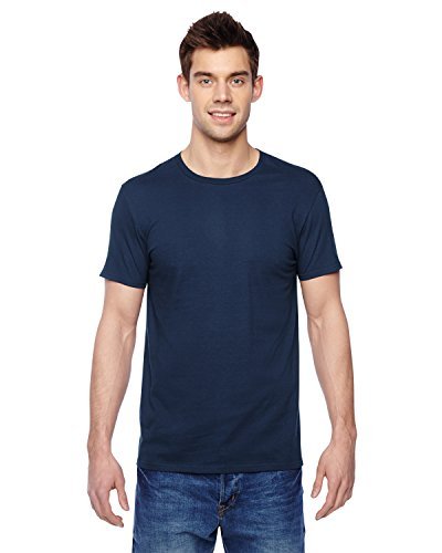 Fruit of the Loom Premium Tee Single, T-Shirt Uomo blu navy
