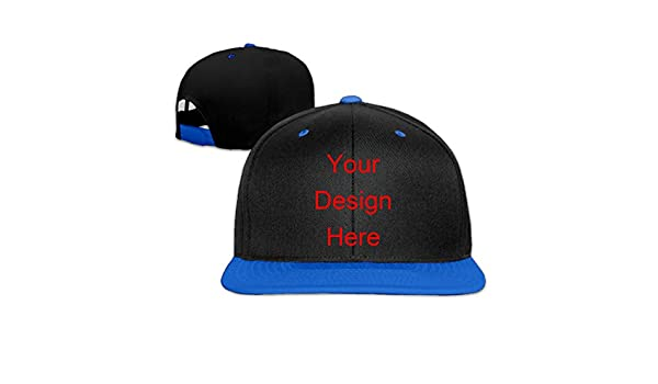 ClaSee Custom Printed Hats Designer Caps Stylish Caps Hip Hop Cap Child  Hiphop Cap Boys Girls Baseball Cap - Blue -  Amazon.co.uk  Clothing 5060a40e3ff3