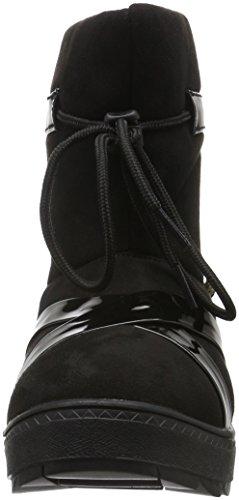flip*flop Damen Cross Boot Schlupfstiefel Schwarz (Black 000)