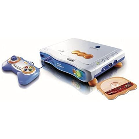 VTech 80-070004 - V.Smile Pro Learning incluyendo consolas de juegos educativos Coches azules y reproductor de CD [importado de