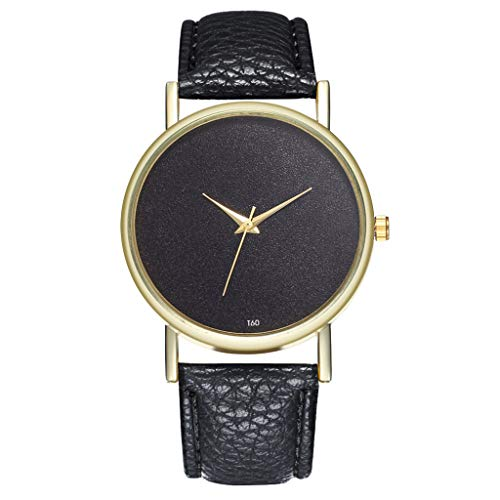Toholearmbanduhr Damenuhr Damenuhren Strap Watch Damen Geschenke UhrenArmband Strap mit Edelstahl Schließe in Rose-Gold uhr damen uhr herrenuhren uhr uhren damen(Schwarz,One ()